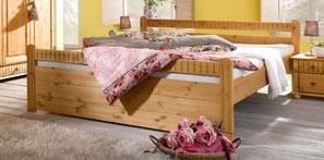 Bett Doppelbett Bettgestell Kiefer Viborg 180x200 cm 2520463 NEU & OVP