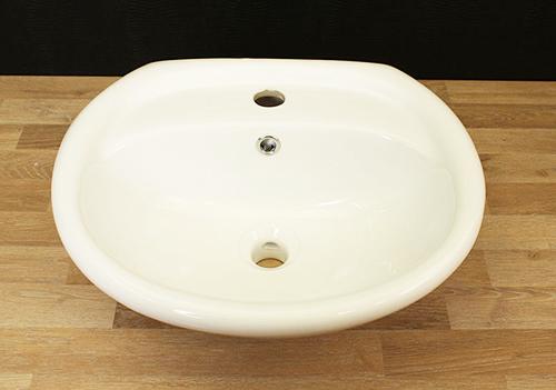 Keramik Waschbecken Waschschale Waschtisch weiß NEU & OVP