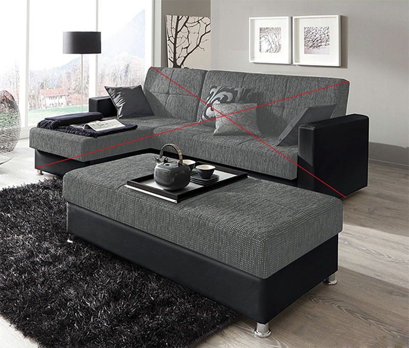 sofa hocker great couch lavello x dunkelbraun ottomane links hocker with sofa hocker megasofa. Black Bedroom Furniture Sets. Home Design Ideas