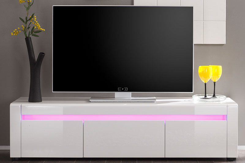 Lowboard Kommode LED-Beleuchtung weiß NEU & OVP