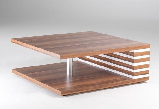 couchtisch beistelltisch tisch nussbaum wei neu ovp ebay. Black Bedroom Furniture Sets. Home Design Ideas
