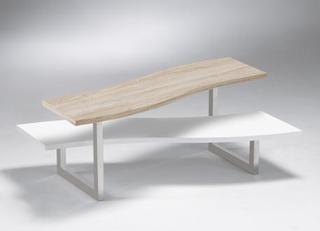 Couchtisch Beistelltisch Tisch Eiche Metall 2521171 NEU & OVP