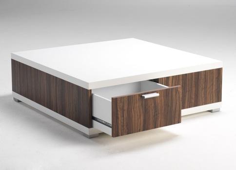 Couchtisch Tisch weiß Olive-Dekor 2521172 NEU & OVP