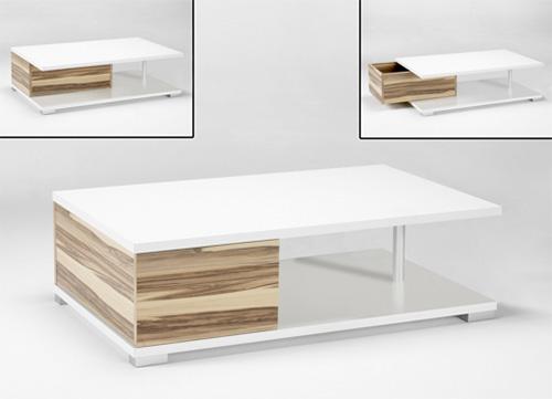 Couchtisch Beistelltisch Tisch Ventura Walnuss weiß 2521189 NEU & OVP