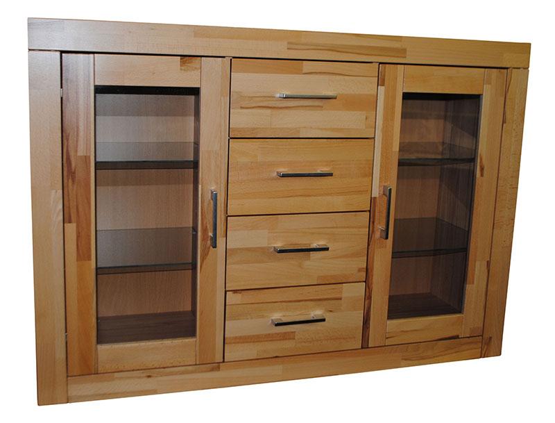 kommode sideboard schrank regal glas uvp 399 neu ovp ebay. Black Bedroom Furniture Sets. Home Design Ideas