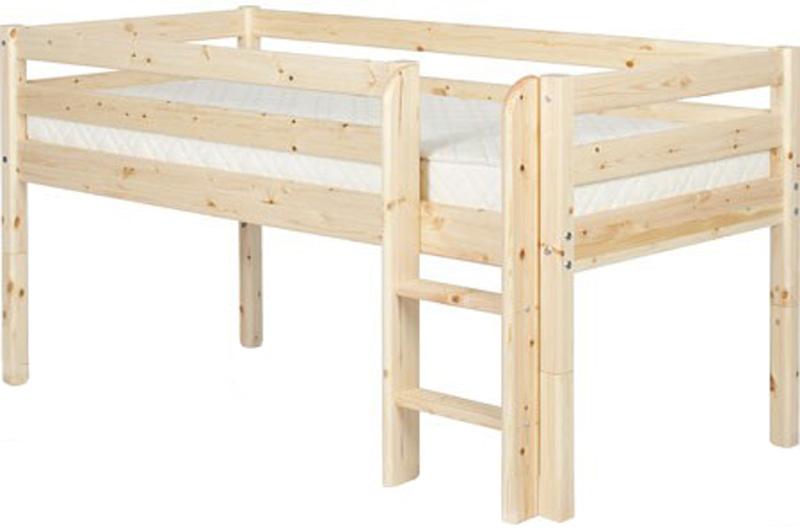 Hochbett Etagenbett Kinderbett 90 x 200 Kiefer Flexa inkl. Lattenrost NEU & OVP