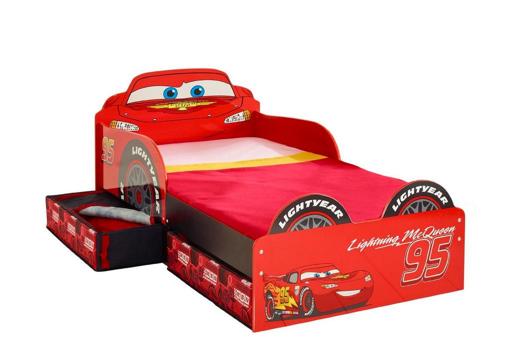 Kinderbett Bett Cars Disney Auto inkl. Matratze 140x70 NEU 2521874