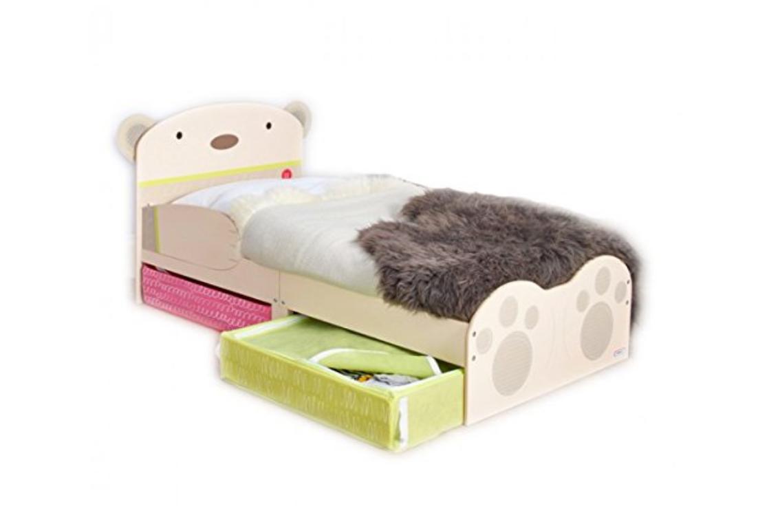 Kinderbett Bett Bärendesign Schubladen Matratze 140x70 NEU 2521878