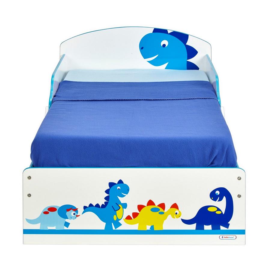 Kinderbett Bett Dinosaurier Matratze 140x70 blau Schubladen NEU 2521882