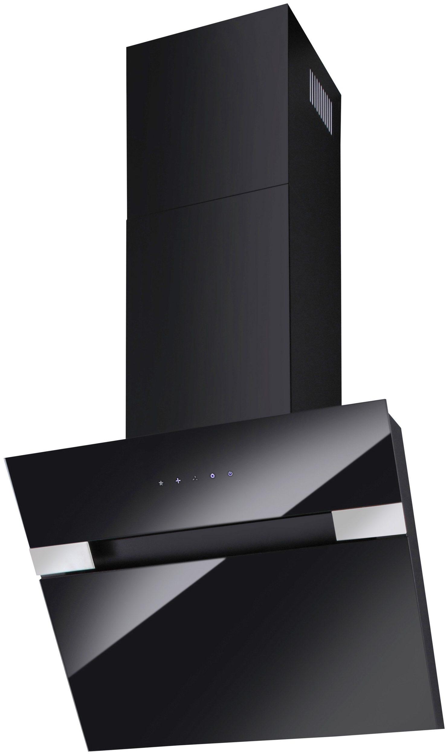 Dunstabzugshaube Kopffreihaube 60cm Abzugshaube schwarz UVP 199,99€ 7110199