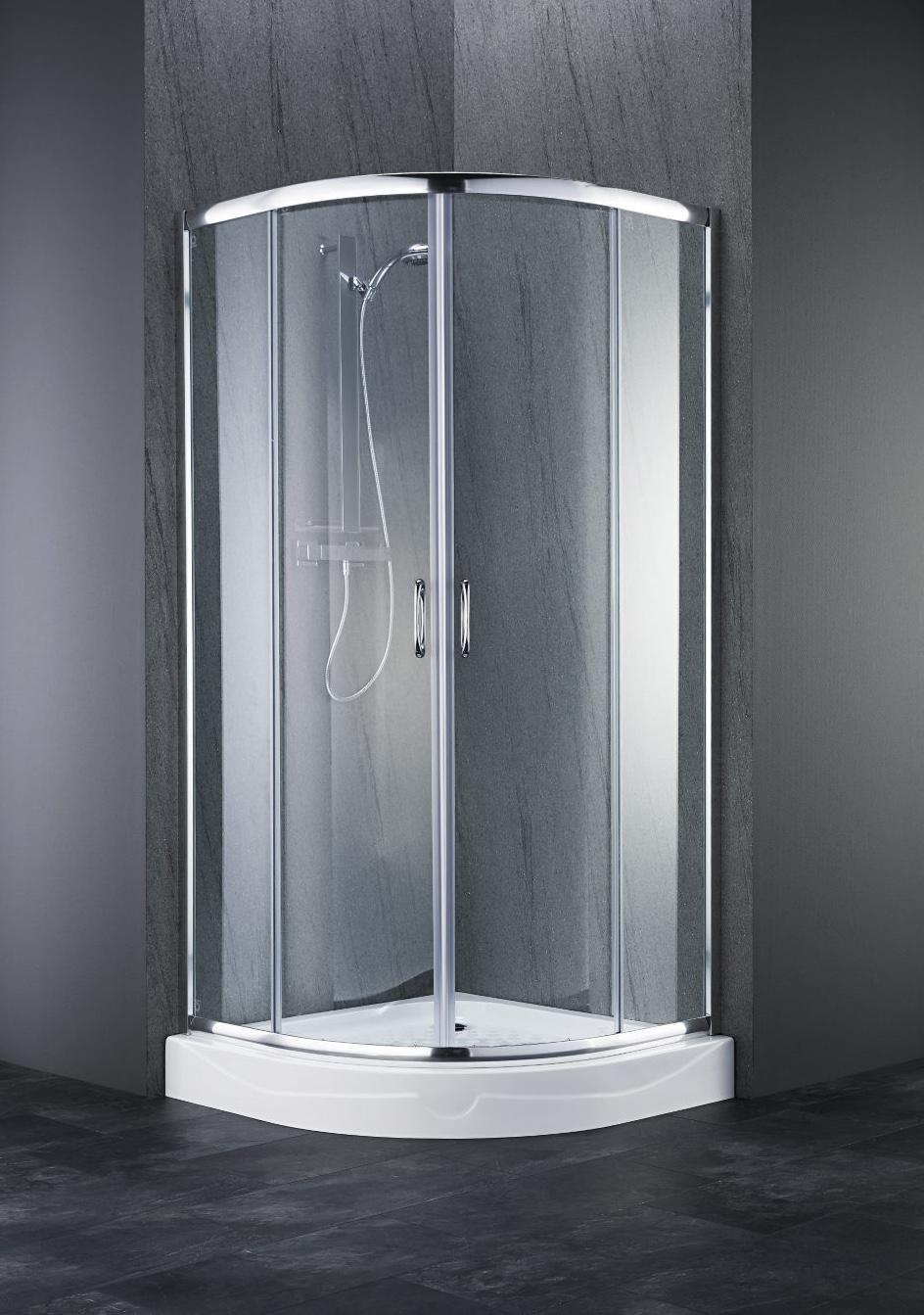 runddusche dusche duschwanne t r 90x90 metallgriff 7120000 ebay. Black Bedroom Furniture Sets. Home Design Ideas