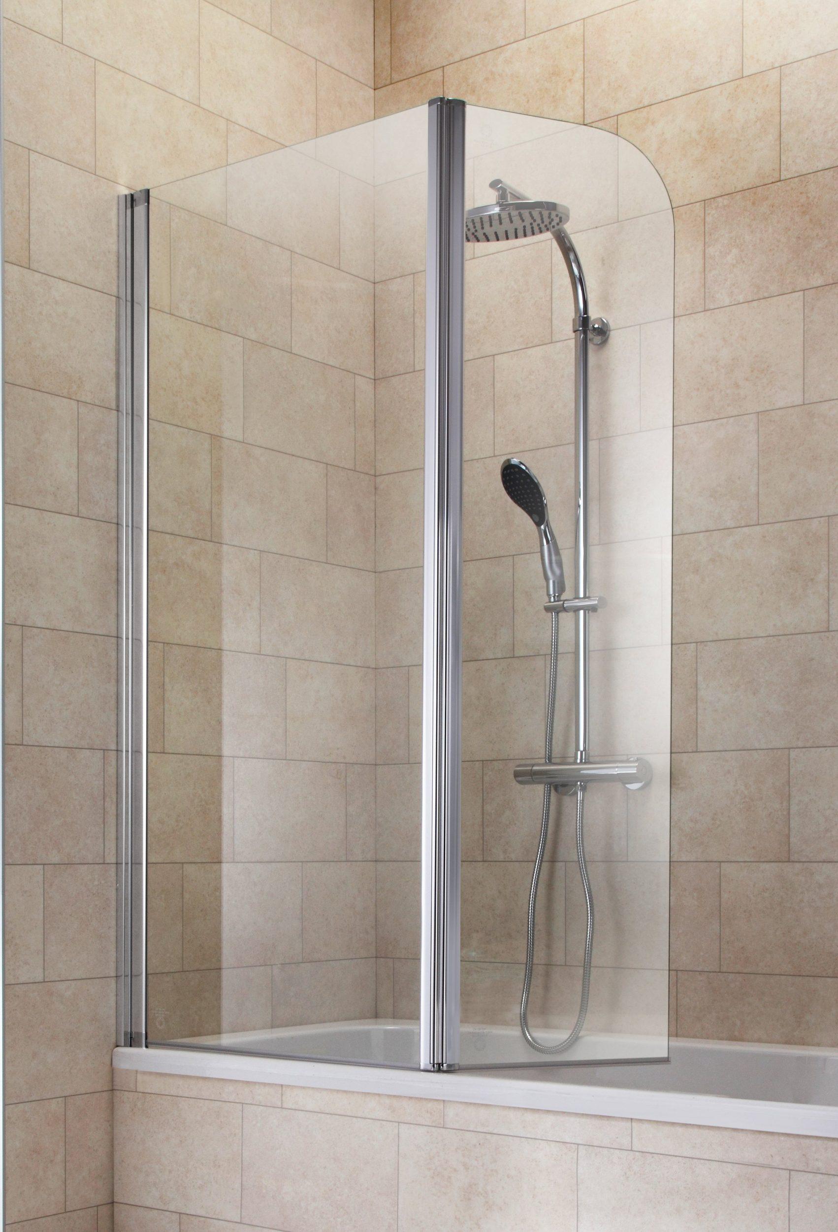 Badewannenaufsatz Aufsatz Glasaufsatz 2 Elemente UVP 179,99€ 7120014