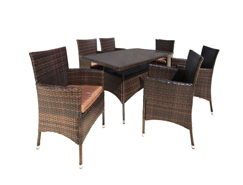 gartengruppe essgruppe garten tisch 80x150 st hle auflage. Black Bedroom Furniture Sets. Home Design Ideas