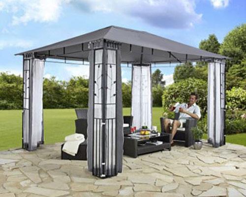 pavillon stahl gestell 3x3 pavillondach polyester. Black Bedroom Furniture Sets. Home Design Ideas