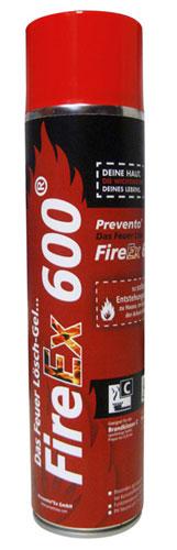 FireEx 600 Lösch Gel Weltneuheit Brandklasse A,B,C & F
