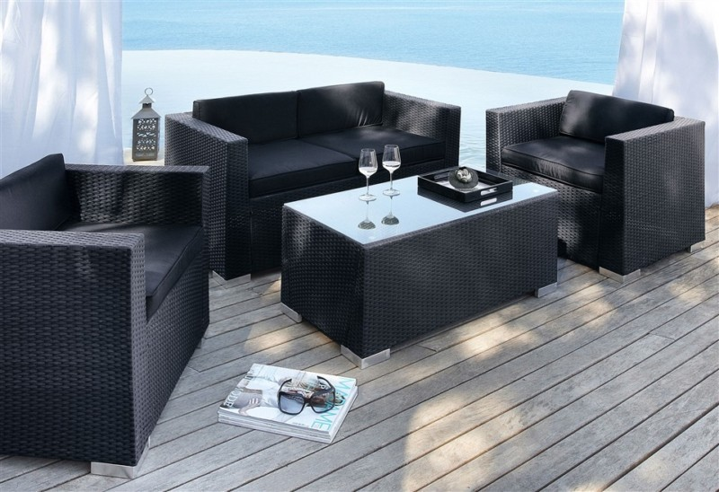 gartengruppe bari lounge set 12 teilig tisch gartenm bel polyrattan uvp 499. Black Bedroom Furniture Sets. Home Design Ideas