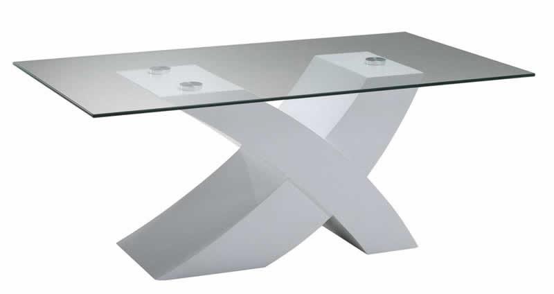 Couchtisch Tisch Wohnzimmertisch Weiss Hochglanz 5130-11,Neu & OVP