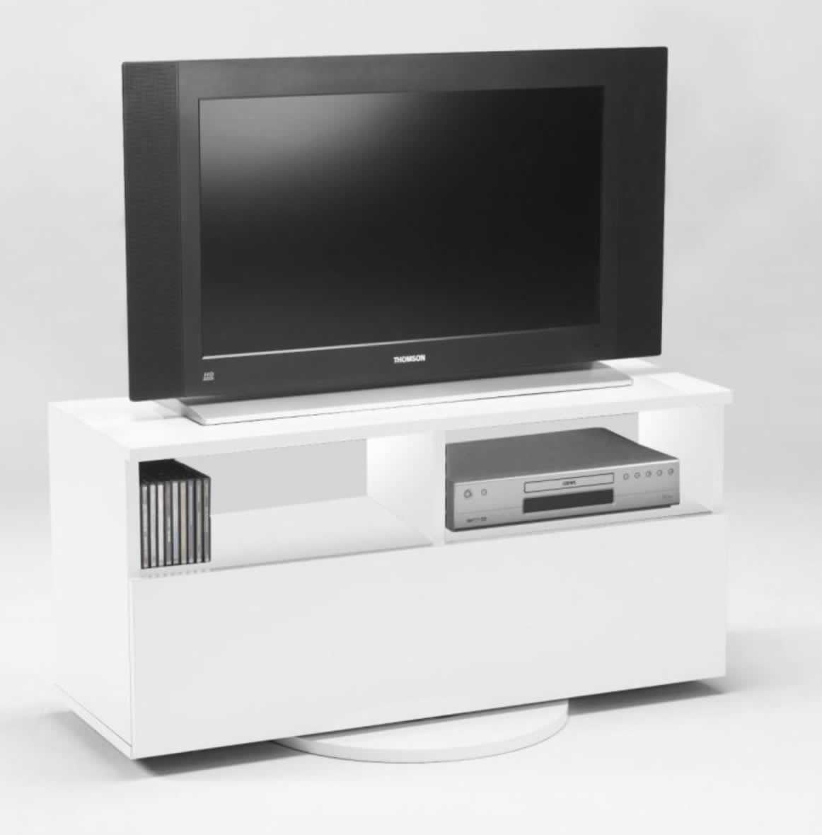 hifi tv rack cubic ii weiss dekor drehbar neu ovp 6443. Black Bedroom Furniture Sets. Home Design Ideas
